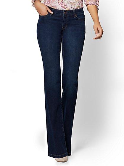 Soho Jeans - Curvy Bootcut - Highland Blue Wash - New York & Company