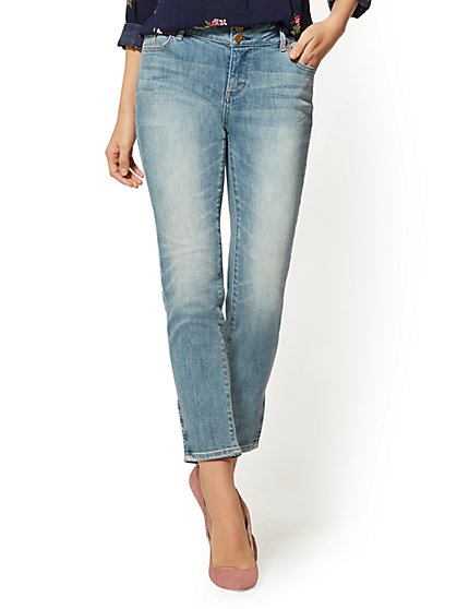 Soho Jeans - High-Waist Boyfriend - Boogie Blue Wash - New York & Company