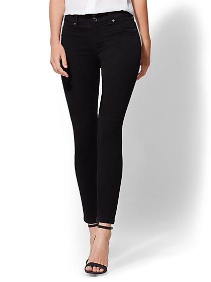 Soho Jeans - High-Waist Legging - Black - New York & Company