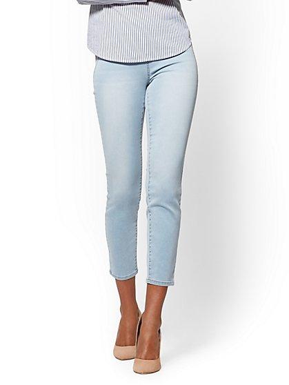 Soho Jeans – High-Waist Pull-On Ankle Legging - New York & Company