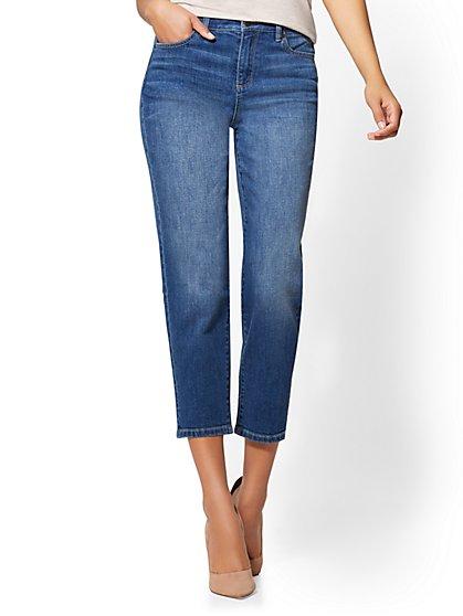 Soho Jeans - High-Waist Retro - Sunset Blue Wash - New York & Company