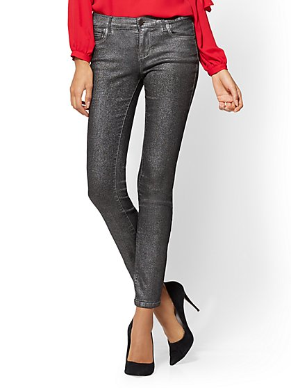 Soho Jeans - Legging - Metallic Black - New York & Company