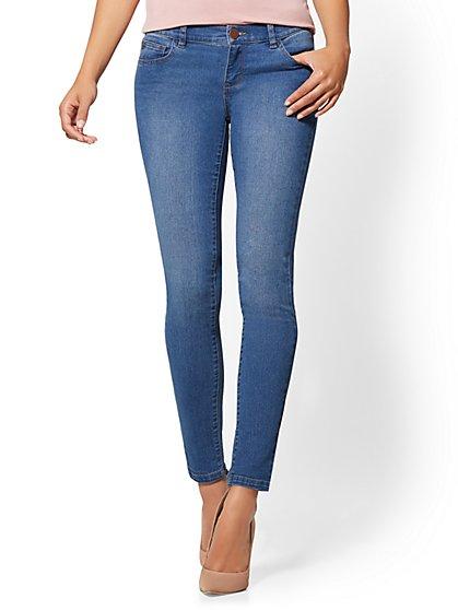 Soho Jeans - Legging - Razor Blue Wash - New York & Company