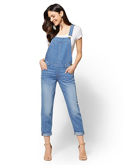 Soho Jeans - Overall - Backstage Blue Wash - New York & Company