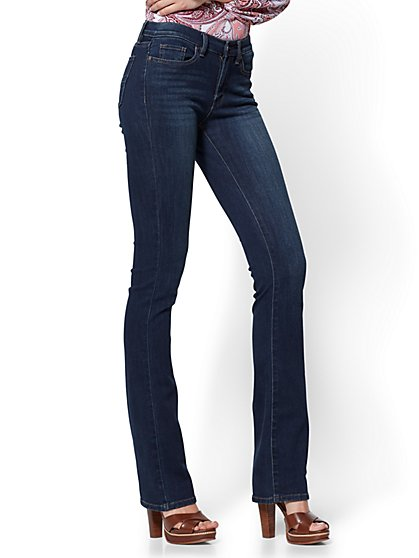 Soho Jeans - Petite Bootcut - Highland Blue Wash - New York & Company