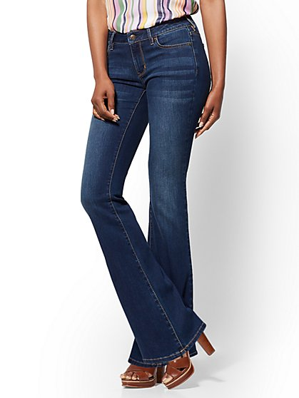 Soho Jeans - Tall Curvy Bootcut - Flawless Blue - New York & Company