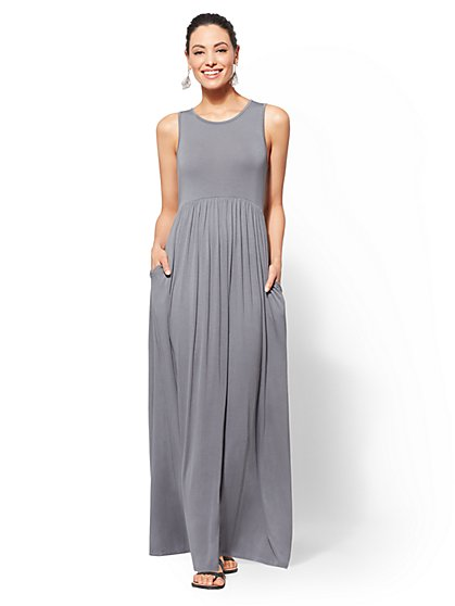 Soho Street - Sleeveless Maxi Dress - New York & Company