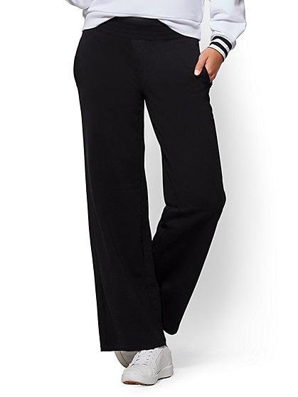 Soho Street - Wide-Leg Pant - Black - New York & Company
