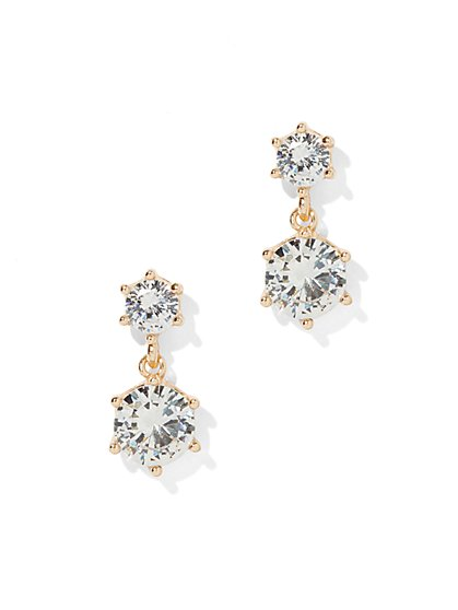 Sparkling Drop Earrings - New York & Company