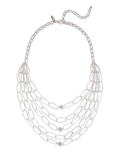 Sparkling Link Necklace - New York & Company