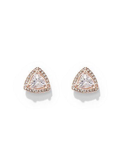 Sparkling Triangle Post Earring - New York & Company