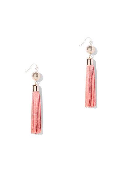 Statement Tassel Drop Earring - New York & Company