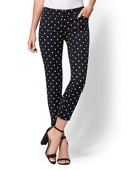 Tall Audrey Crop Pant - Dot Print - New York & Company