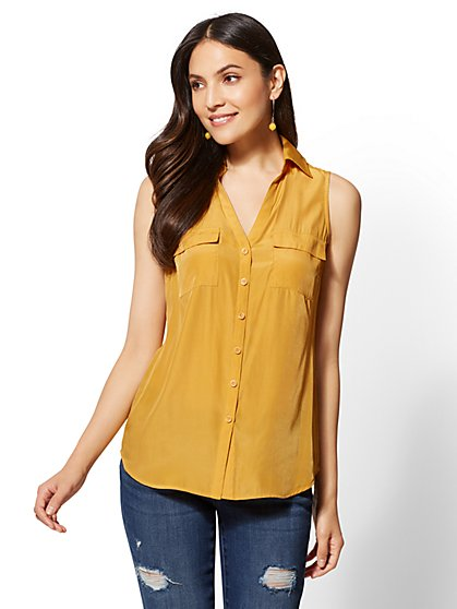 The Kate Shirt - Sleeveless - New York & Company