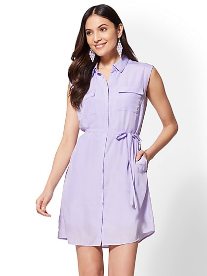 The Kate Shirtdress - New York & Company