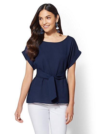 Tie-Front Top - New York & Company
