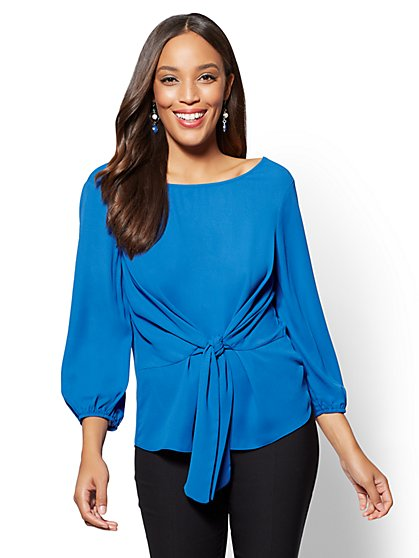 Tie-Waist Blouse - New York & Company