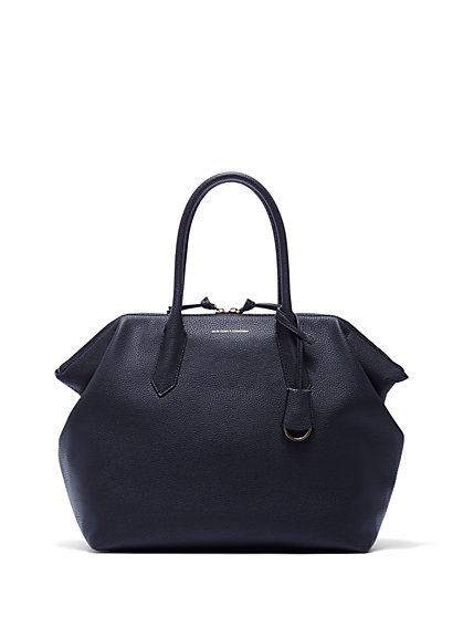 Top Handle Dome Handbag New York Company