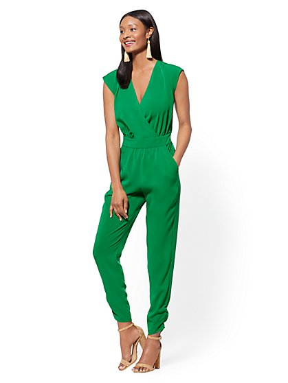 Wrap Jumpsuit - New York & Company