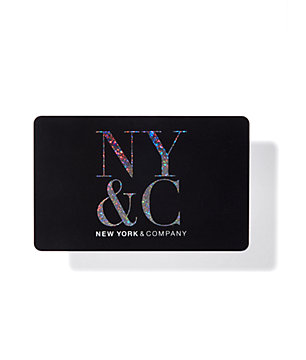 NY&C Gift Card - Black - New York & Company