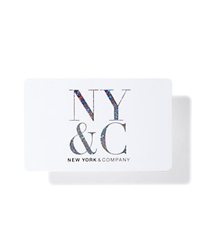 NY&C Gift Card - White - New York & Company