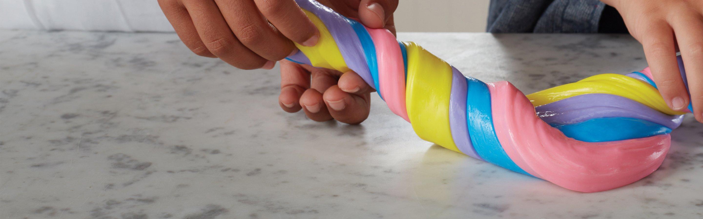 multi-colored slime
