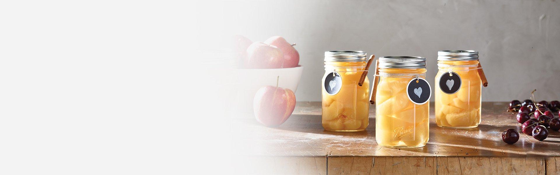 fresh preserving jars