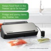 FoodSaver® VS3182 Multi-Use Vacuum Sealing & Food Preservation System, Stainless Steel, with FoodSaver Bags, Rolls, and Bonus Items image number 1