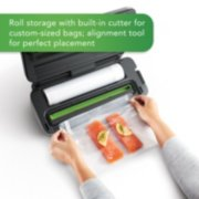 FoodSaver® VS3182 Multi-Use Vacuum Sealing & Food Preservation System, Stainless Steel, with FoodSaver Bags, Rolls, and Bonus Items image number 3