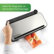 FoodSaver® VS3182 Multi-Use Vacuum Sealing & Food Preservation System, Stainless Steel, with FoodSaver Bags, Rolls, and Bonus Items image number 5