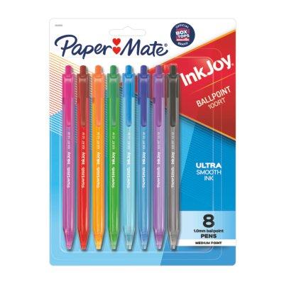 Paper Mate InkJoy 100RT Retractable Ballpoint Pens, Medium Point (1.0mm)