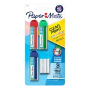 Paper Mate Clearpoint Color Lead and Eraser Mechanical Pencil Refills image number 0