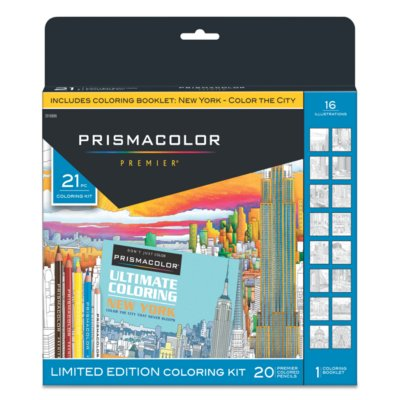 Premier® New York Adult Coloring Kit