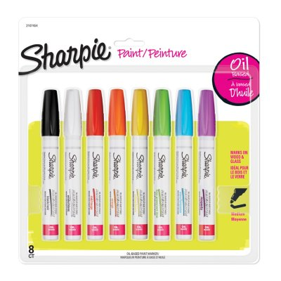 Sharpie Oil-Based Paint Markers, Medium Point