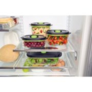 FoodSaver® Preserve & Marinate Vacuum Containers, 3-Cup and 10-Cup Set image number 8