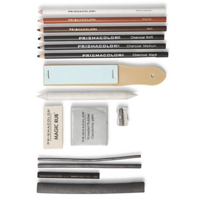Premier® Charcoal Drawing Set