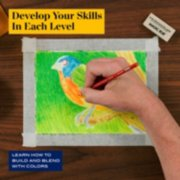 Develop your skills in each level and learn how to build and blend with colors image number 2