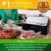 FoodSaver® 2-in-1 Automatic Vacuum Sealing System with Starter Kit, v4440, Black Finish image number 5