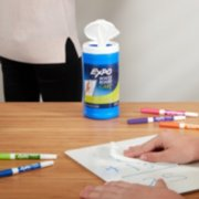 white board care cleaning wipes image number 1