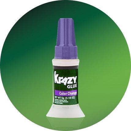 color change crazy glue