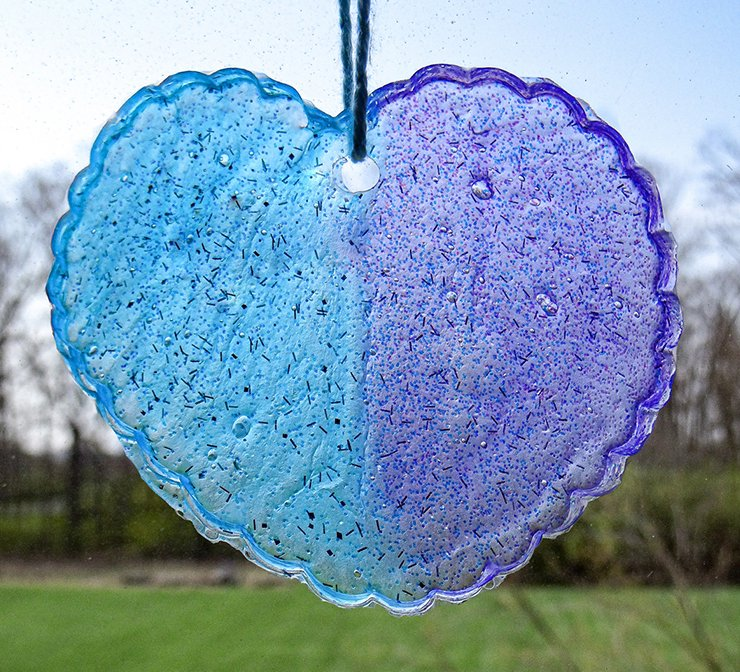 sun catcher project at home activity