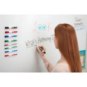 white board with magnetic dry erase markers image number 3
