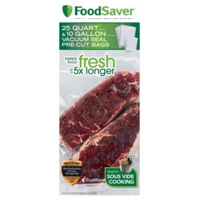 FoodSaver Sous Vide Vacuum Sealing Bags Combo Pack