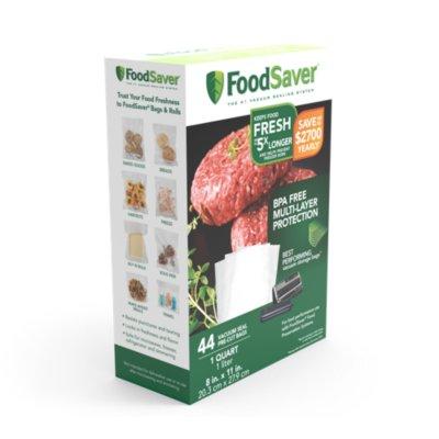 FoodSaver® Quart Vacuum Seal Bags, 44 Count