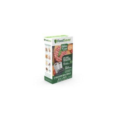 "FoodSaver®  8"" x 20' Vacuum-Seal Roll, 2 Pack"