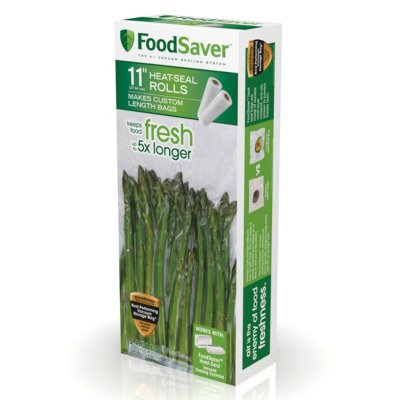 "FoodSaver® 11"" x 16' Vacuum Seal Roll, 2 Pack"