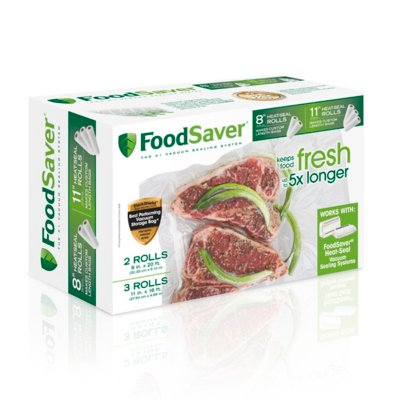 "FoodSaver® 8"" & 11"" Vacuum-Seal Rolls, Multi-Pack"