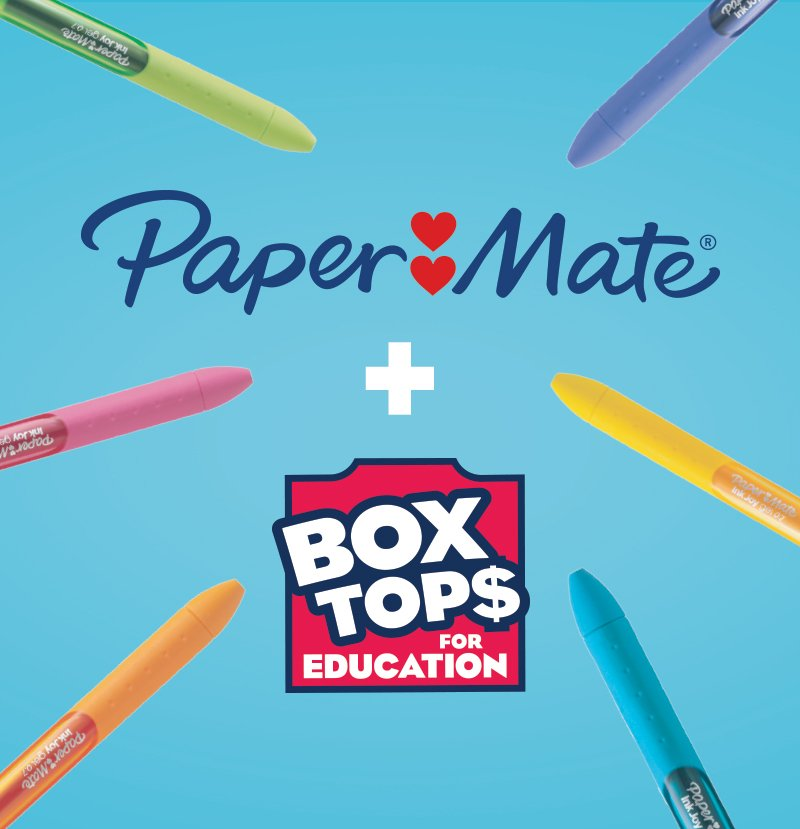 photograph about Paper Mate Coupons Printable titled Paper Pal Pens, Pencils, Coloring, Erasers Correction