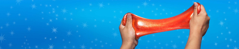 shiny orange slime