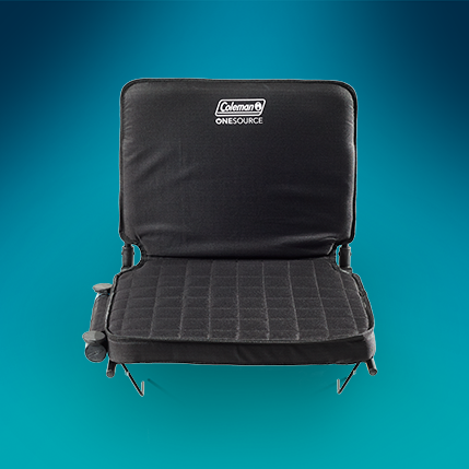cushioned One Source portable outdoor seat